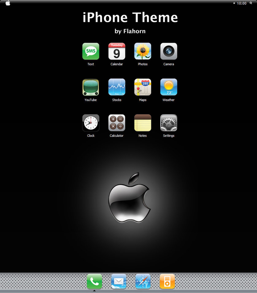 iPhone Windows Blind For XP | Themes For Pc