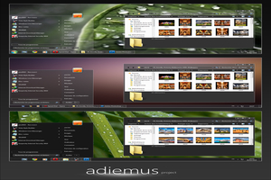 Adiemus Visual Style For Windows Seven