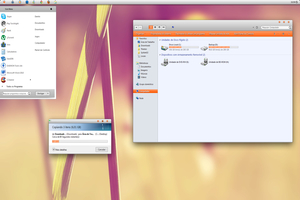 Citrin Visual Style Windows Seven Theme
