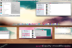 Equity Pink Visual Style Seven Theme