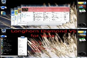 Longhorn Diamond Visual Style For Vista