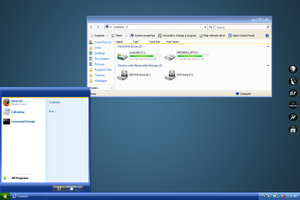 Luna Element Visual Style Windows Vista Theme